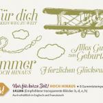 Stempelset Hoch Hinaus Stampin' Up! Sale-A-Bration 2016 SAB